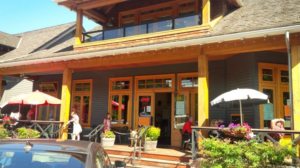 Sunflower Cafe Crescent Beach Menu