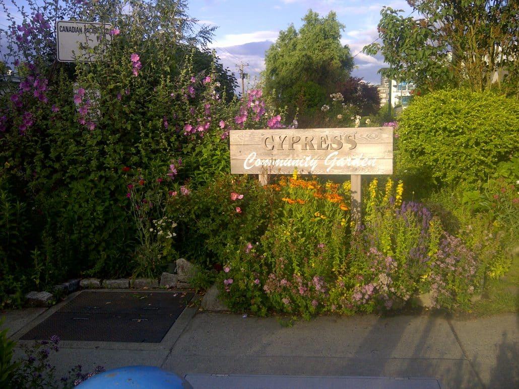 Cypress Community Gardens, Vancouver, BC