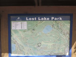 Lost Lake Park Off-Leash Dog Park, Whistler, BC - Park Map