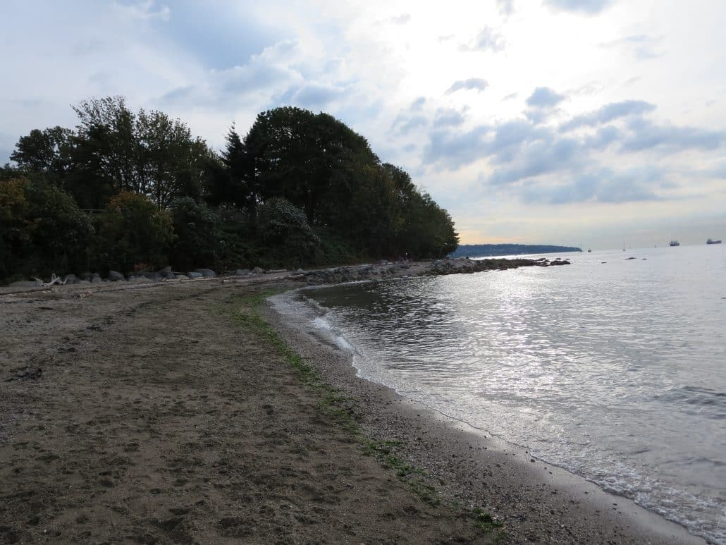 Hadden Park Dog Off-Leash Area and Beach, Vancouver, BC