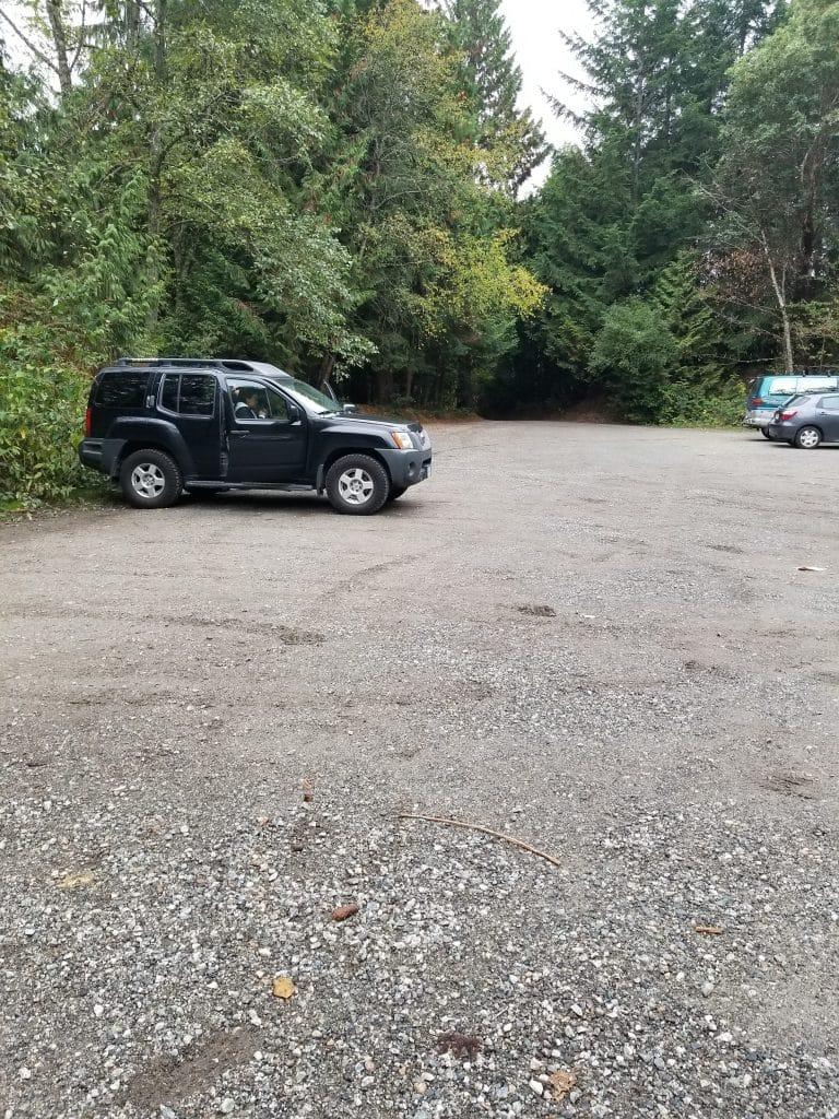 Cypress Falls Park, West Vancouver, BC - Parking Lot