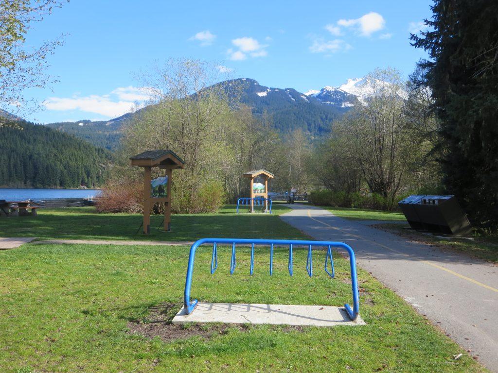 Rainbow Park Off-Leash Dog Park, Whistler, BC