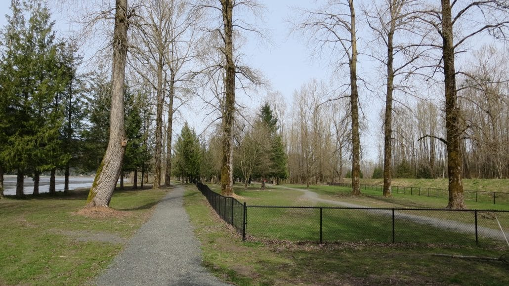 Island 22 Regional Off-Leash Dog Park, Chilliwack, BC