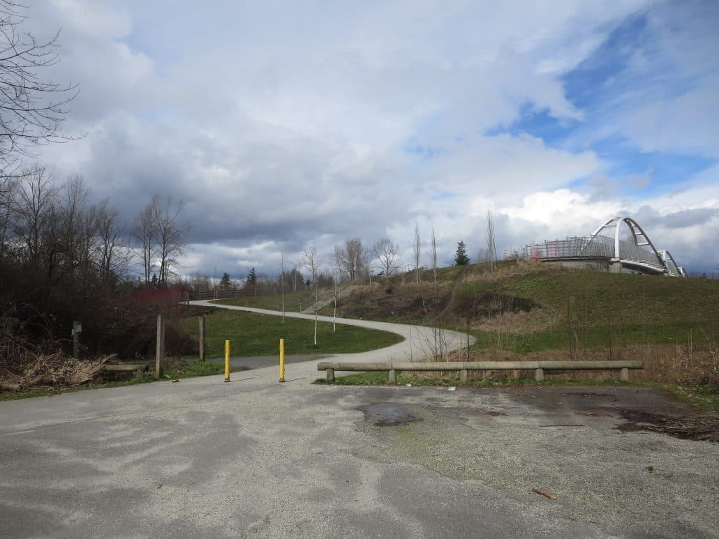 Tynehead Regional Park, Surrey, BC - Highway 1 Overpass