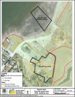 Blackie Spitt Dog Off-Leash Area and Swimming Beach Map Thumbnail, Surrey, BC