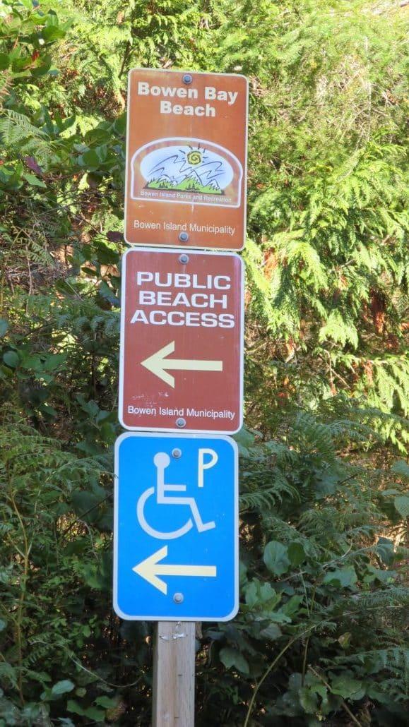 Bowen Bay Beach, Bowen Island, BC