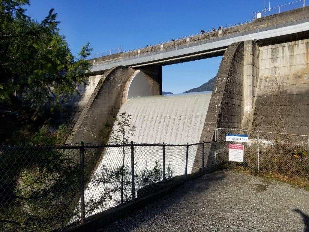 Capilano Regional Park, North Vancouver, BC - Cleveland Dam