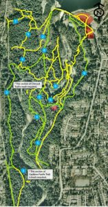 Capilano River Regional Park Off-Leash Trail Map