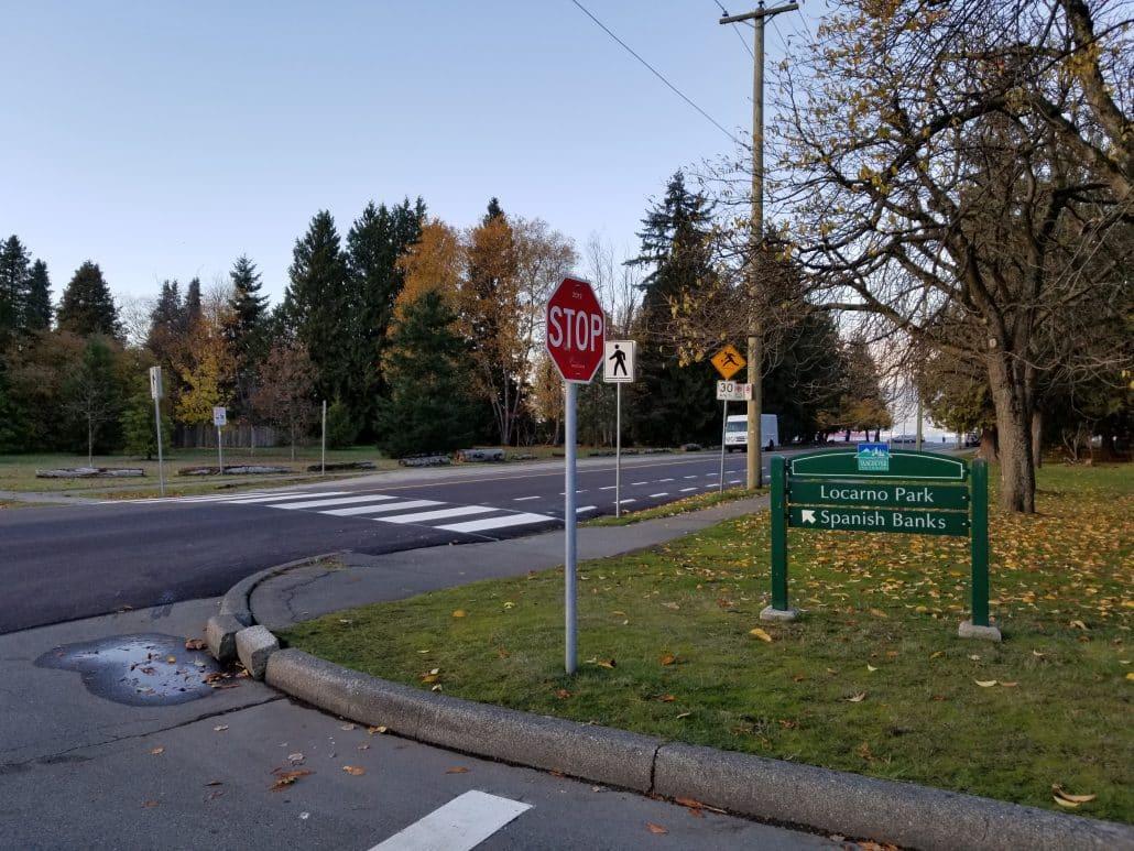 Locarno Park, Vancouver, BC