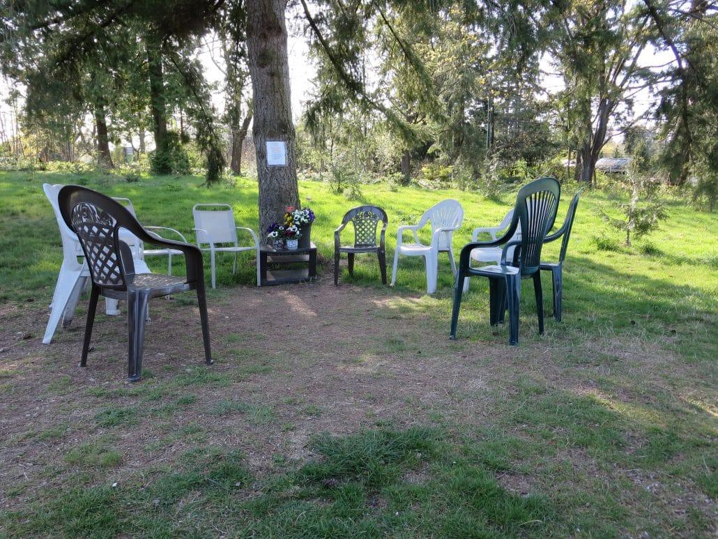 Oak Meadows Park, Vancouver, BC - Seating