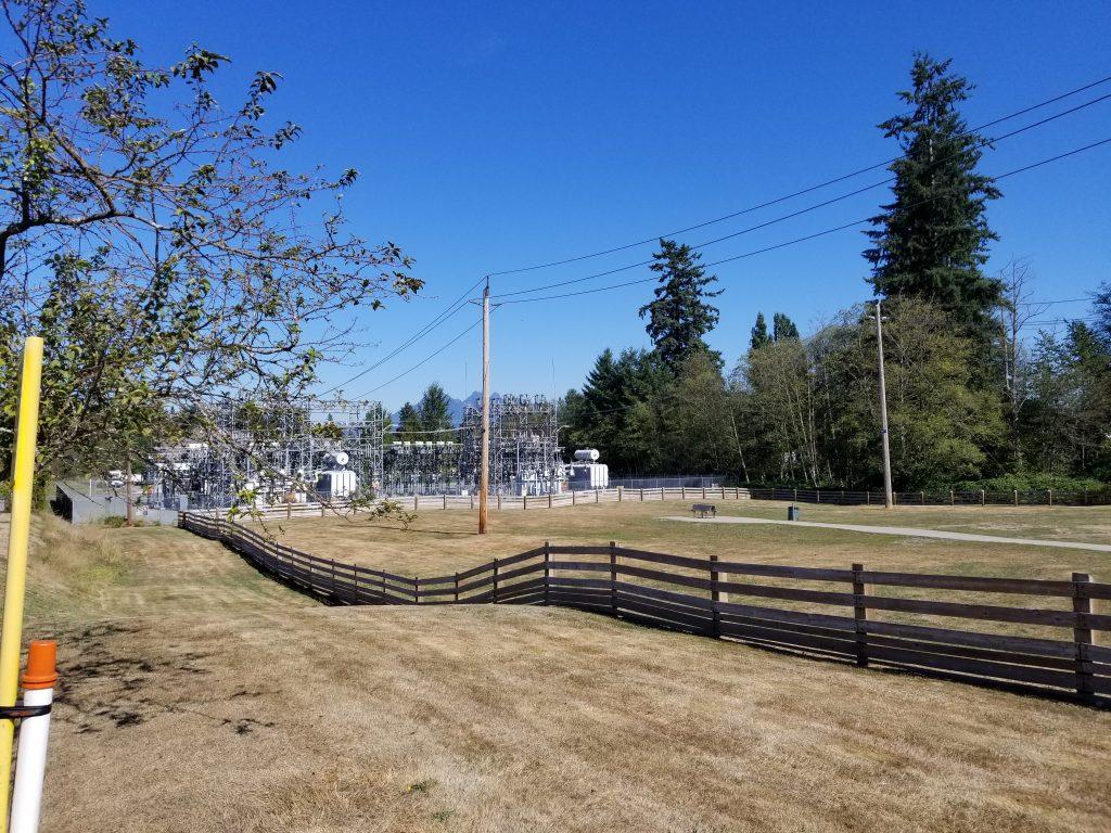 Port Kells Substation Off-Leash Dog Park, Langley, BC