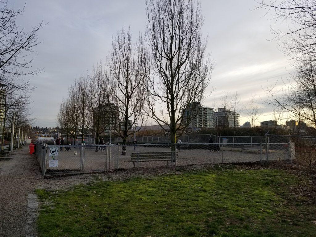 Hinge Park (Olympic Village) Off Leash Dog Park