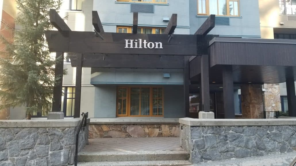 Hilton Hotel Whistler