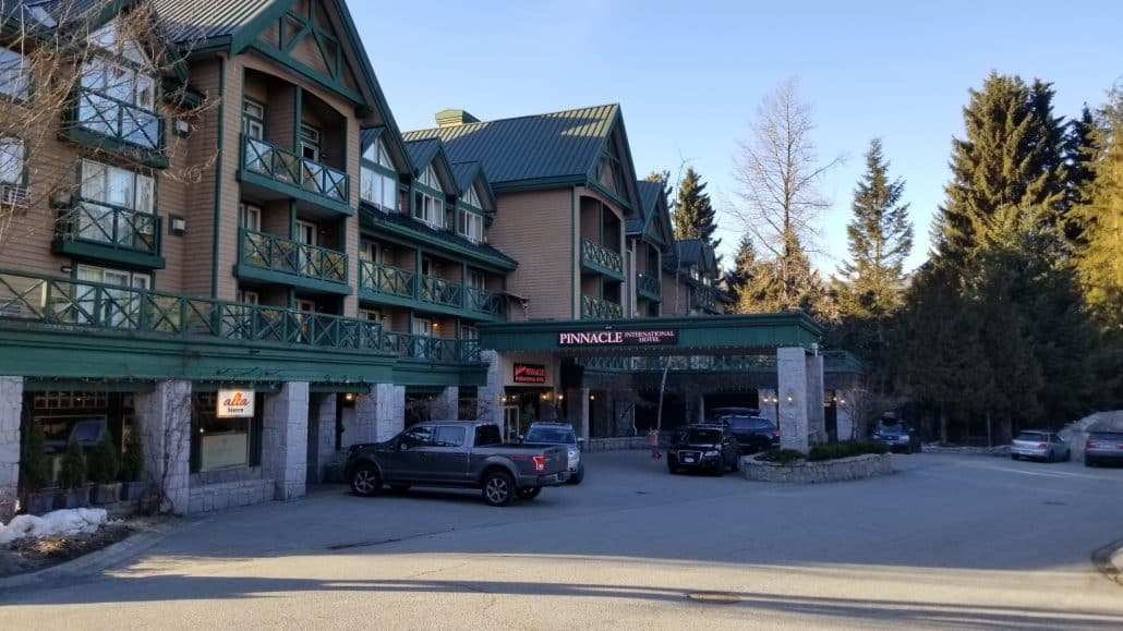 Pinnacle Hotel, Whistler, BC