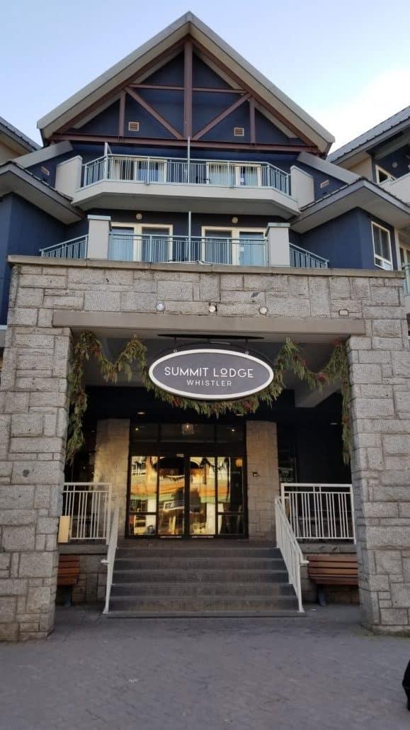 Summit Lodge Whistler, BC (2)