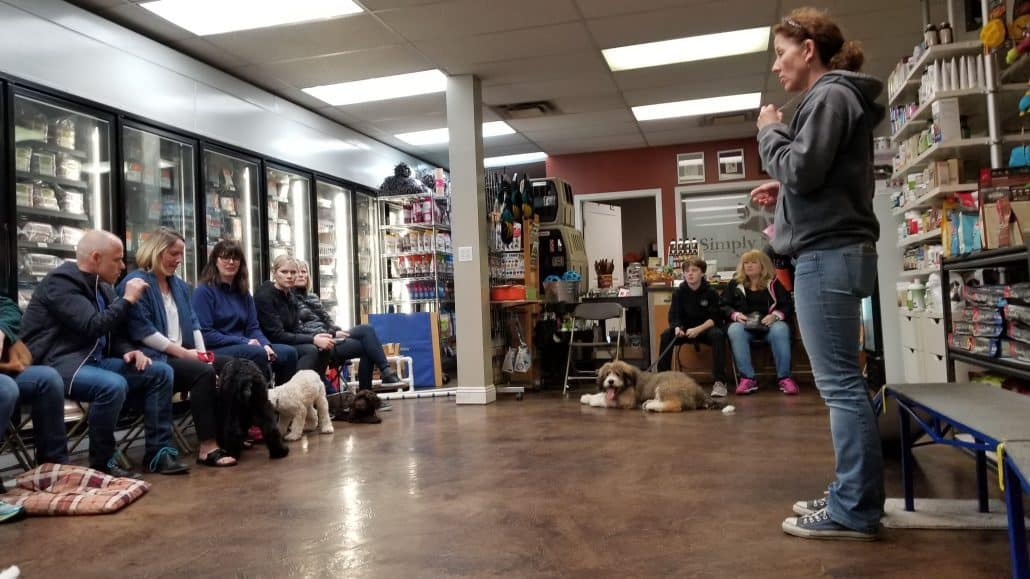 Simply Natural Raw Pet Food Store - Puppy Class (1) -2018-March