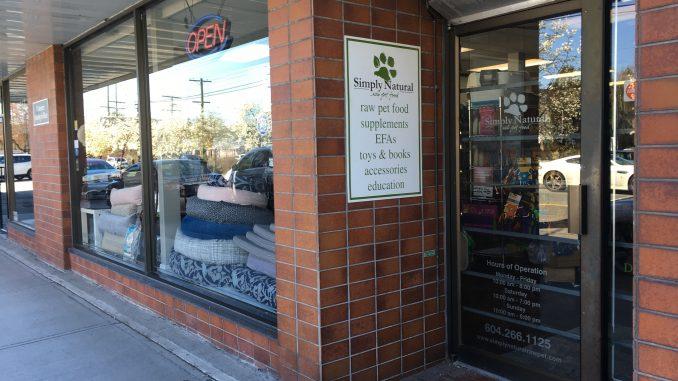 Simply Natural Raw Pet Food Store - Storefront (1)-2018-April