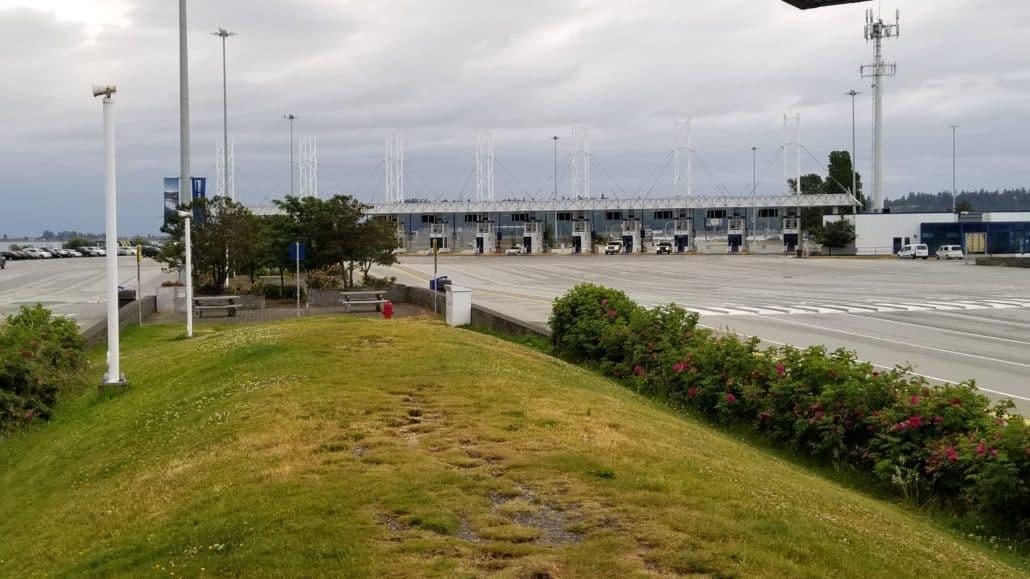 BC Ferries Tsawwassen Terminal Dog Area
