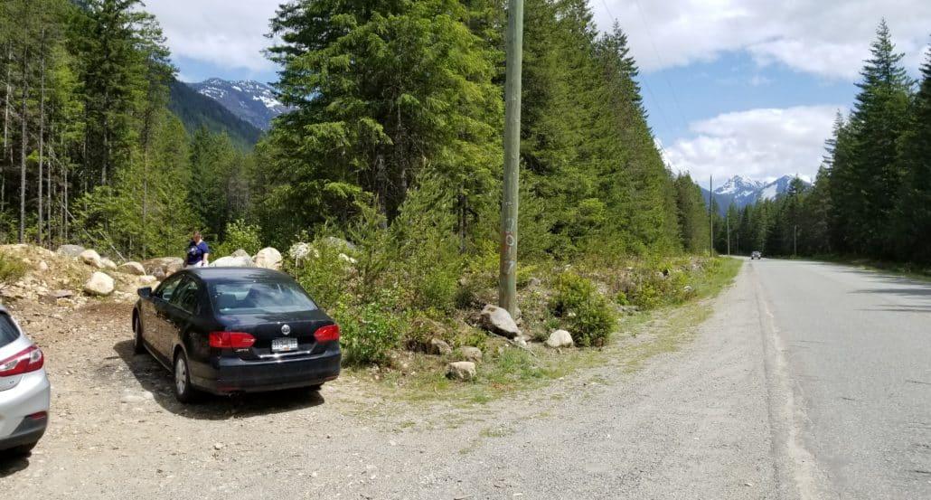 Bosumarne Falls - Chilliwack - BC (3) - Trailhead