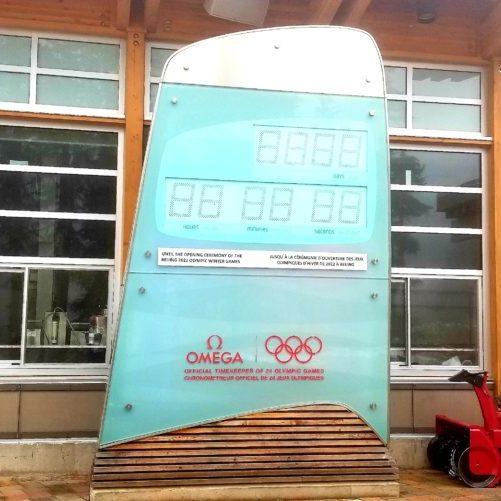 2010 Olympic Clock