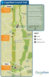 Coquitlam Crunch Trail Map