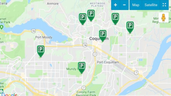 Coquitlam Off-Leash Dog Parks Map