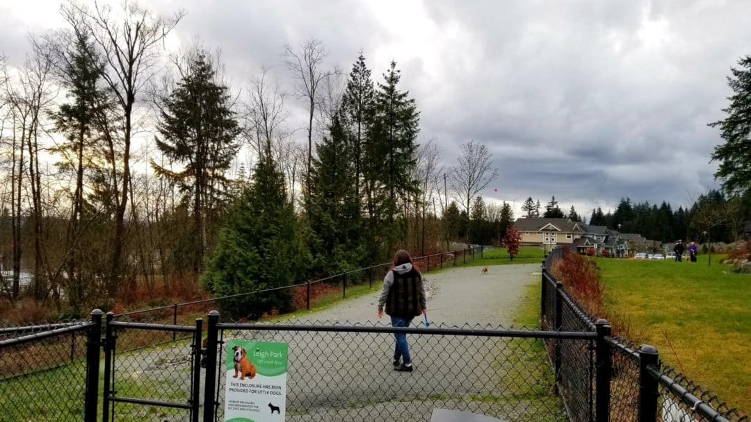 Separate Small Dog Enclosure - Leigh Park Off Leash Dog Park-Coquitlam-BC (7)