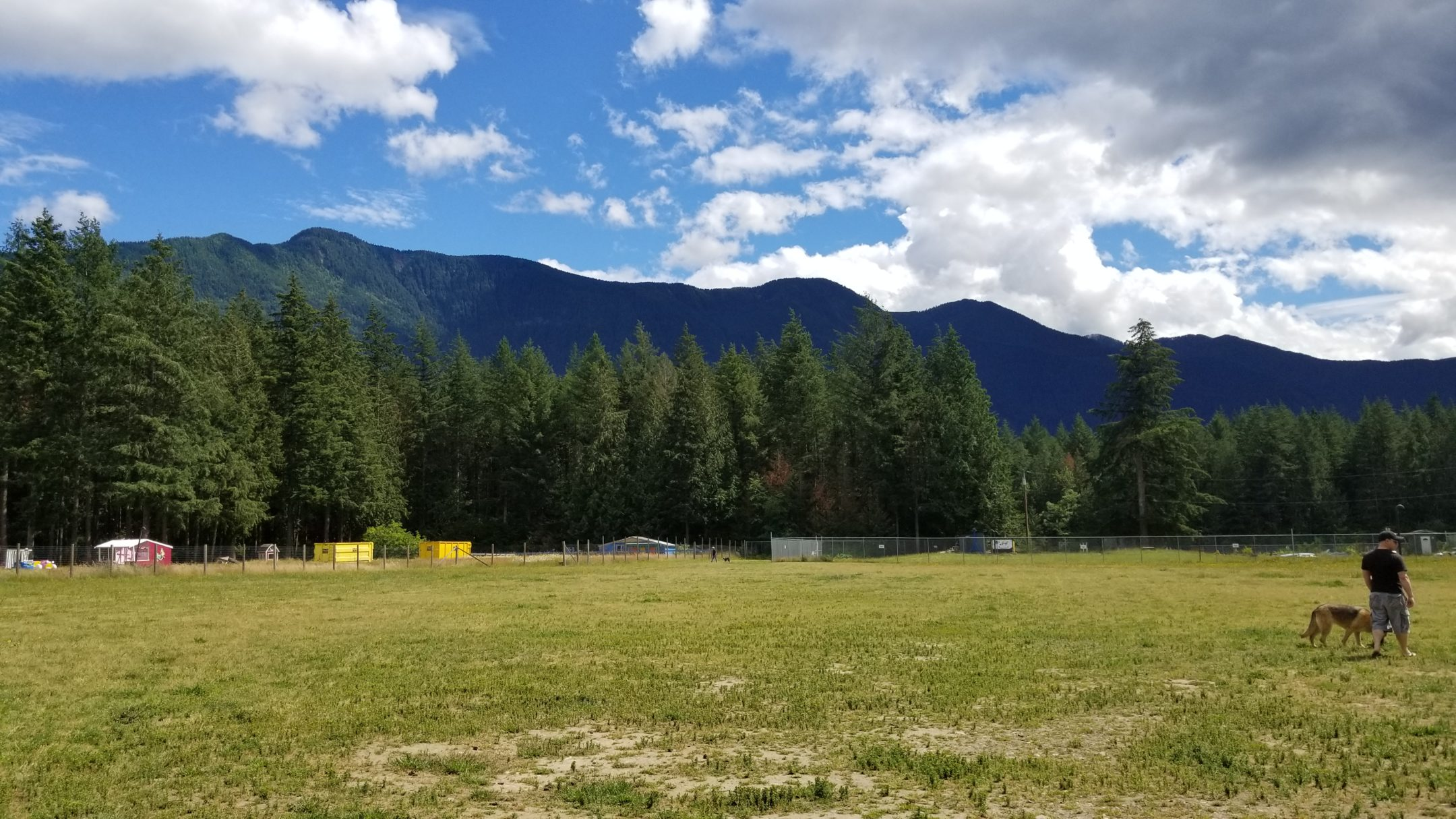 Cultus Lake Plaza Off-Leash Dog Park, Cultus Lake, BC