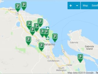 Map of Off-Leash Dog Parks in Nanaimo BC
