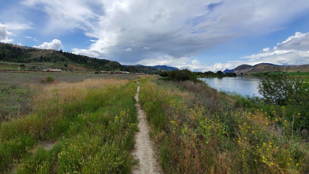 Facing West- Campbell Creek Nature Park Off-Leash Dog Park - Kamloops - BC (1)