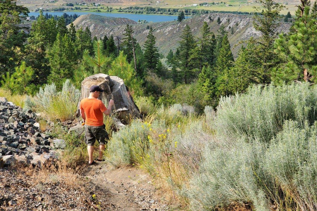Trailhead - Capilano Off-Leash Dog Park - Kamloops - BC (6)