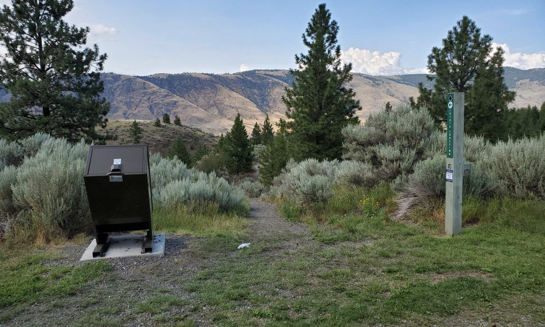 Trailhead to Valleyview Park Off-Leash Trails - Juniper Off-Leash Dog Park - Kamloops - BC (9)