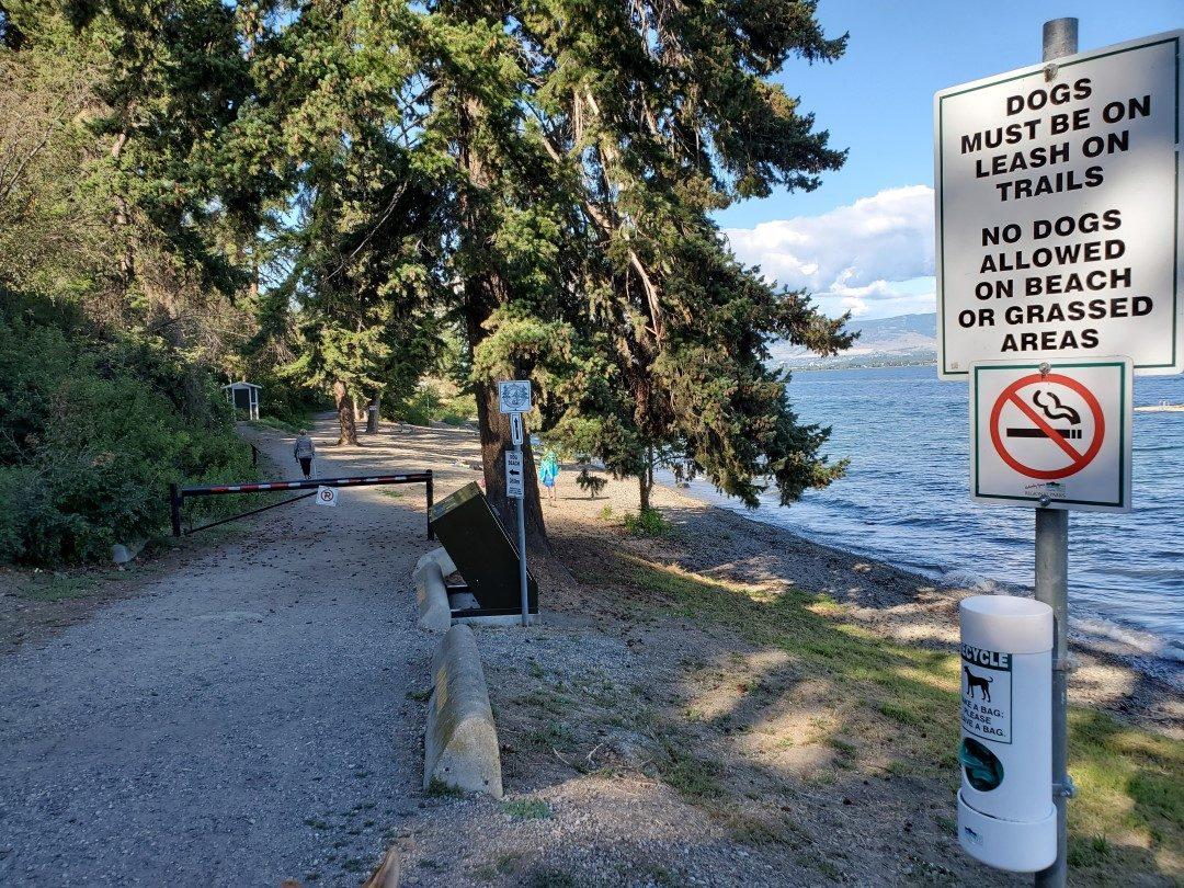 Kalamoir Beach Regional Off-Leash Dog Park - West Kelowna - BC (2)
