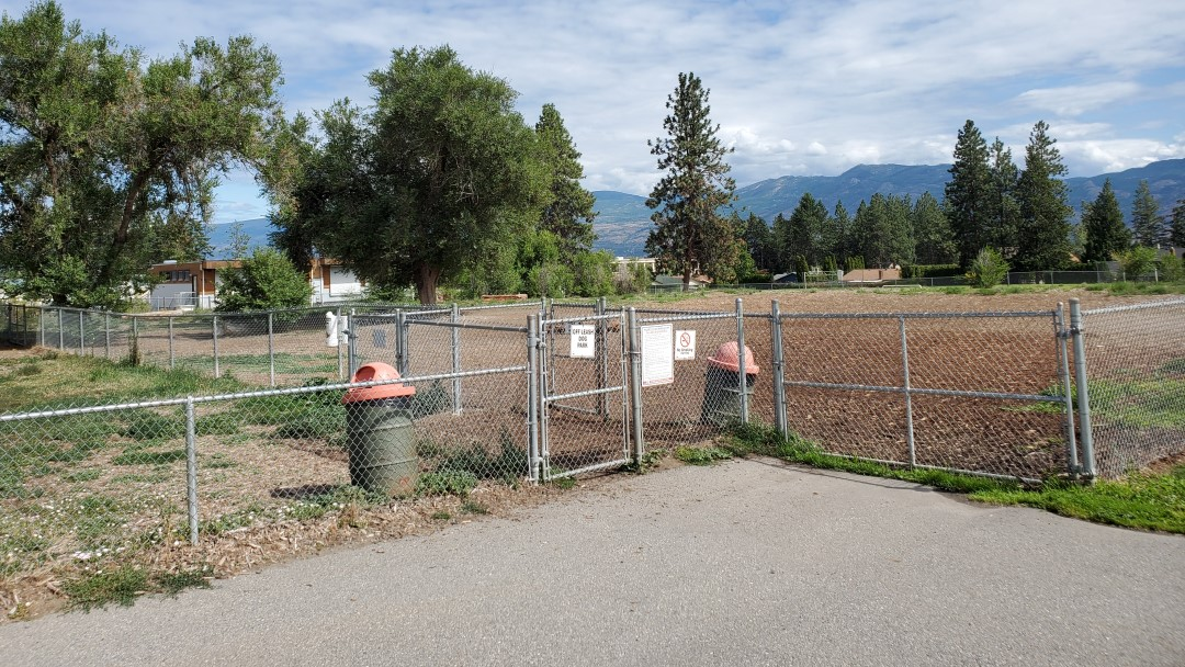 Westbank Centre Off-Leash Dog Park, West Kelowna, BC