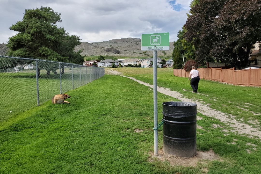 Heritage Park Off-Leash Dog Park, Vernon, BC
