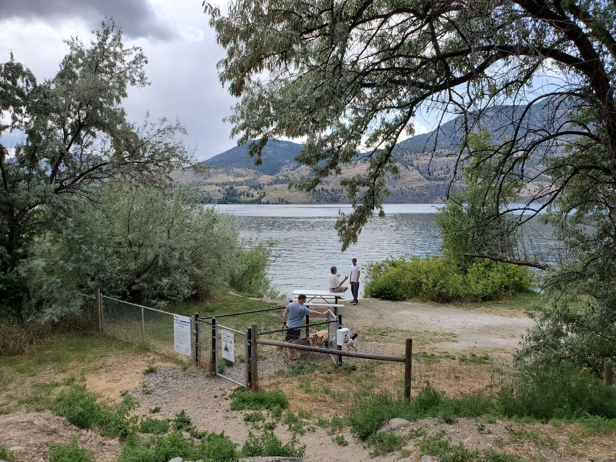 Skaha Lake Off-Leash Dog Park (on Lakeside Road), Penticton, BC